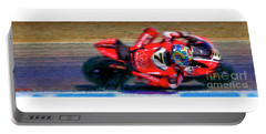 2016 Fim Superbike Chaz Davies Portable Battery Charger