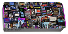 2017 Broadway Spring Collage Portable Battery Charger by Steven Spak
