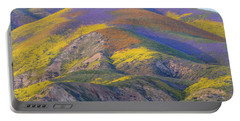 2017 Carrizo Plain Super Bloom Portable Battery Charger by Marc Crumpler
