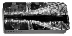 Portable Battery Charger featuring the photograph 2017 Charcoal 8x10  by Frozen in Time Fine Art Photography