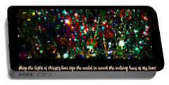 2017 Christmas Card 2 Portable Battery Charger