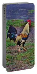 2017 Rooster Portable Battery Charger by Craig Wood