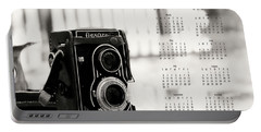 Portable Battery Charger featuring the photograph 2017 See The World Wall Calendar by Ivy Ho