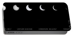 2017 Solar Eclipse Portable Battery Charger