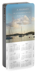 Portable Battery Charger featuring the photograph 2017 Wall Calendar Journey by Ivy Ho