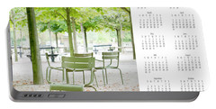 Portable Battery Charger featuring the photograph 2017 Wall Calendar Paris by Ivy Ho