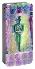 Portable Battery Charger featuring the painting . by James Lanigan Thompson MFA