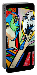 Artist Picasso Portable Battery Charger