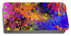 Abstract Composition Portable Battery Charger