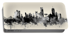 Boston Massachusetts Skyline Portable Battery Charger