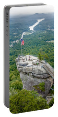 Lake Lure And Chimney Rock Landscapes Portable Battery Charger