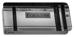 23rd Street Subway Nyc Portable Battery Charger