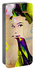 Audrey Hepburn Collection Portable Battery Charger