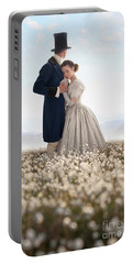 Victorian Couple Portable Battery Charger by Lee Avison