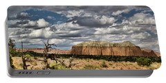 Capitol Reef National Park Catherdal Valley Portable Battery Charger