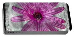 25a Abstract Floral Painting Digital Expressionism Portable Battery Charger