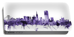 San Francisco City Skyline Portable Battery Charger