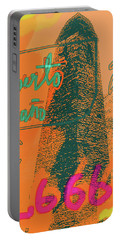 2666 Roberto Bolano  Poster  Portable Battery Charger