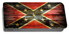Confederate Flag 2 Portable Battery Charger