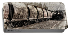 Portable Battery Charger featuring the photograph 2816 Empress Passing Grain by Brad Allen Fine Art