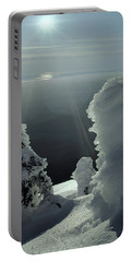 2m4415 A Ice Covered Trees Over Puget Sound Portable Battery Charger