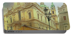 2nd Work Of St. Nicholas Church - Old Town Prague Portable Battery Charger