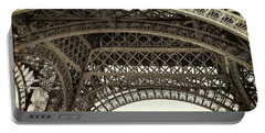 1889 Worlds Fair Entrance Portable Battery Charger by JAMART Photography