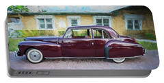 1947 Lincoln Continental Portable Battery Charger by Rich Franco