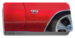 Portable Battery Charger featuring the photograph 1970 Chevy Chevelle 454 Ss  by Rich Franco
