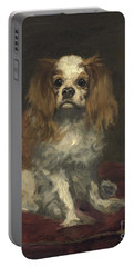 A King Charles Spaniel Portable Battery Charger