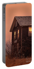 Portable Battery Charger featuring the photograph Abandoned House by Jill Battaglia