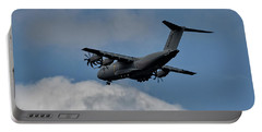 Airbus A400m Portable Battery Charger by Shirley Mitchell
