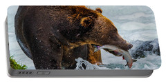 Alaska Brown Bear Portable Battery Charger