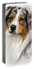 Australian Shepherd Portable Battery Charger