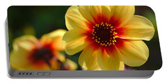 Autumn Flowers Portable Battery Charger