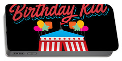 Birthday Circus Carnival Mom Party Apparel Portable Battery Charger