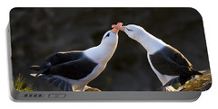 Black-browed Albatross Couple Portable Battery Charger by Jean-Louis Klein & Marie-Luce Hubert