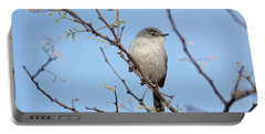 Black-tailed Gnatcatcher Portable Battery Charger