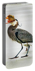 Portable Battery Charger featuring the photograph Blue Heron by Norman Hall