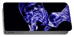 Bobby Womack Collection Portable Battery Charger by Marvin Blaine