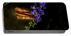 Portable Battery Charger featuring the photograph Butterfly by Jay Stockhaus