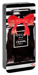 Chanel Noir Perfume Portable Battery Charger