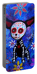 Chihuahua Day Of The Dead Portable Battery Charger