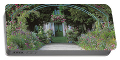 Claude Monet's Garden At Giverny Portable Battery Charger