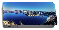 Portable Battery Charger featuring the photograph Crater Lake by Jonny D