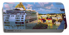 Cruise Ship In Port Portable Battery Charger
