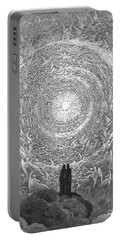 Portable Battery Charger featuring the photograph Dante Paradise by Gustave Dore