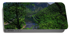 Portable Battery Charger featuring the photograph Delaware Water Gap by Raymond Salani III