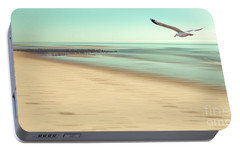 Portable Battery Charger featuring the photograph Desire Light Vintage by Hannes Cmarits