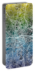 Dublin Ireland City Map Portable Battery Charger
